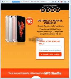 winrewardstoday.com - iphone 6 à 1€