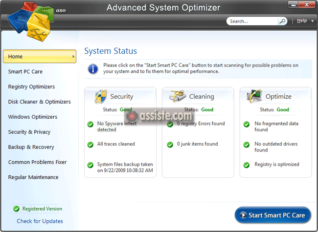 Advanced System Optimizer -