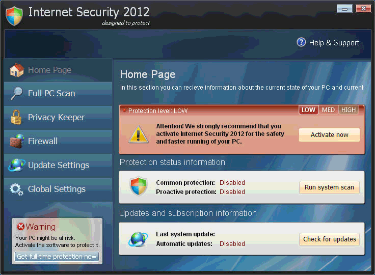Privacy Protection - Internet Security, Internet Security 2012, Privacy Protection, Malware Protection, Spyware Protection