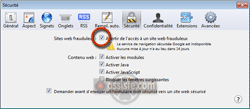 Safari - Activer - Désactiver l'anti-phishing dans Safari (Filtre anti-phishing, Filtre anti-malwares, Filtre anti sites d'attaque, Filtre anti sites contrefaits)