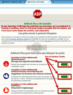 AdBlock Plus - Installation
