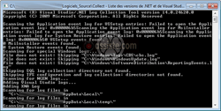 Microsoft Visual Studio .Net Log Collection Tool (Collect - collect.exe)