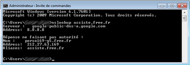 Comment trouver l 39 adresse ip d 39 un site internet for Ouvrir une fenetre ms dos