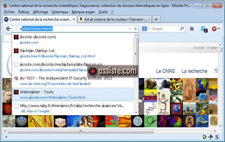 Firefox Suggerer Des Urls Rapidement Dans La Barre D Adresse