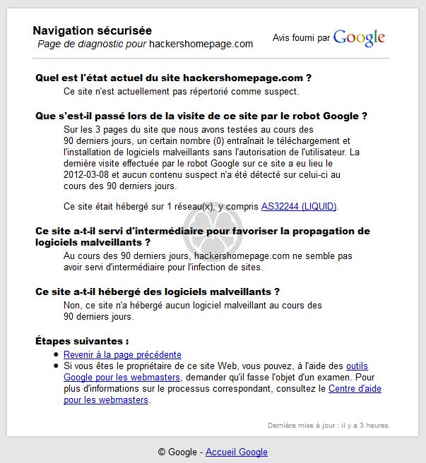 bloquer avis google