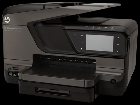 imprimante e all in one hp officejet pro 8600 plus jet d. Black Bedroom Furniture Sets. Home Design Ideas