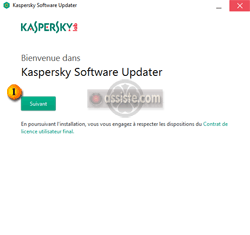 Kaspersky Software Updater - Installation