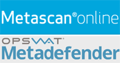 Metascan - Antivirus multimoteurs en ligne.