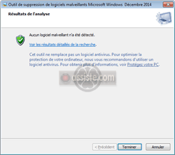 "Microsoft MSRT ( ""Malicious Software Removal Tool"" - ""Outil de suppression de logiciel malveillant "")"