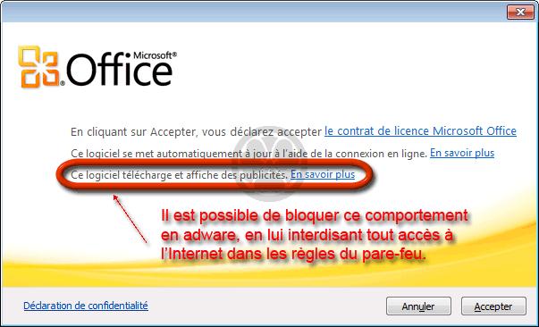 microsoft office 2010 starter gratuitement et légalement