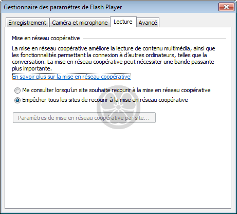 Flash Player (Adobe Flash Player) - Mise à jour et paramétrage