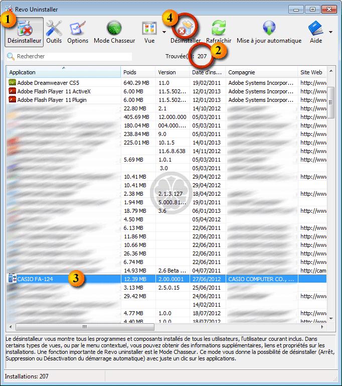 Mac liste toutes les applications installées