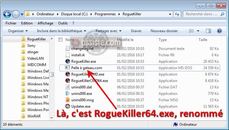 BITS 64 TÉLÉCHARGER GRATUITEMENT ROGUEKILLER
