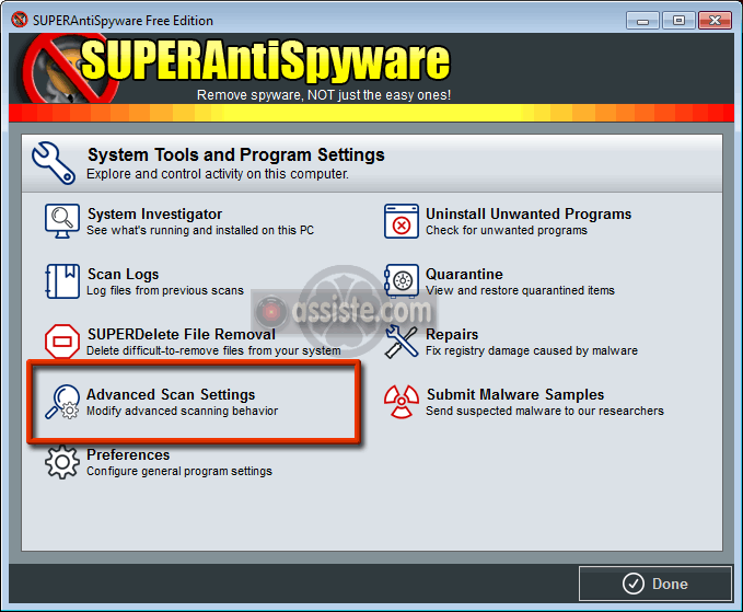FRANCAIS TÉLÉCHARGER SUPERANTISPYWARE EN