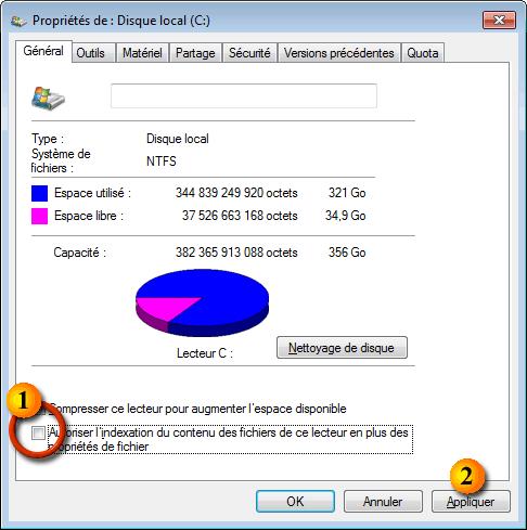 indexation windows 10