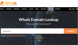 Whois.com (whois.com) Whois - Domain name search - recherches Whois