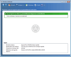 Windows Defender - Anti-spyware, anti-PUP et anti-adware temps réel gratuit de Microsoft