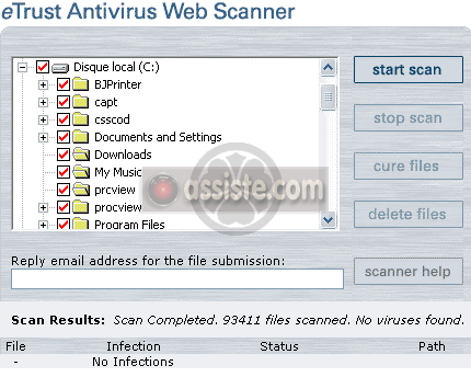 antivirus gratuit en ligne etrust antivirus web scanner. Black Bedroom Furniture Sets. Home Design Ideas